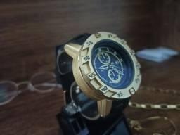 Relógio masculino invicta S1 pulseira preta