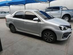 Etios sedan platinum automatico(único dono)
