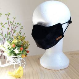 Máscara de Veludo Unissex por encomenda