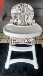 Cadeira De Alimentação/Refeição Alta Bebê ? 5070PA Premium Galzerano Panda (NOVA)!