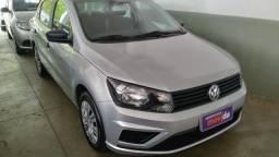 Vw - Volkswagen Voyage G8 Prata - 2019