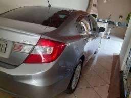 Honda Civic lxl 1.8 2012 2°dono novo