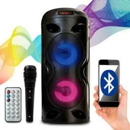 Caixa De Som Amplificada Portátil Bluetooth<br>