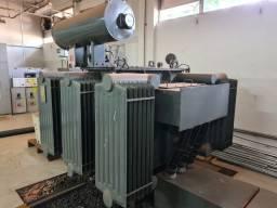 Transformador União 750 kva - tensão de alta 13800V - baixa 380V