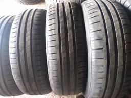 Pneus seminovos 1756514/ Michelin com 80/90% de borracha valor 185$$ unidade