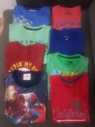 Lote de camisas de malha