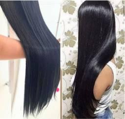 Alongamento tic tac Orgânico idêntico ao cabelo humano