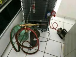 Conserto no local de geladeira e outros,Refrigeração.