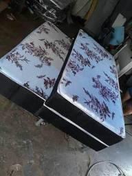 Cama box Solteiro/C Auxiliar Frete grátis *NOVAS*<br>