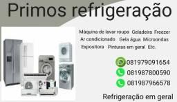 Primos refrigeração em geral