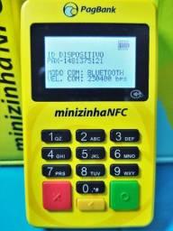 Maquina de cartão Minizinha Nfc Tela Com Led