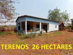 Linda Chácara Terenos com 26 Hectares