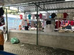 Banco na feira de Caruaru