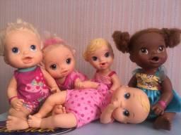 Bonecas 5 baby alive todas funcionando perfeitamente