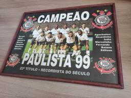 Quadro Corinthians campeão paulista 99