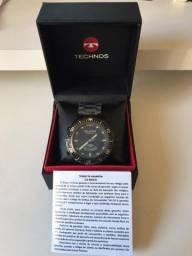 Relógio Technos Skydiver Preto Masculino T205JN