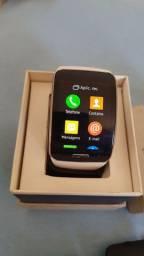 Vendo Samsung gear s smartphone funciona com chip igual celular tela 2 polegadas