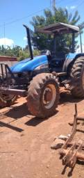 Trator Nil roller tl85 ano 2009 4x4 funcionando tudo