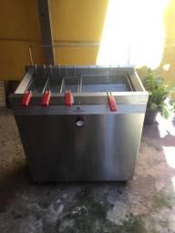 Fritadeira PROGÁS Profissional 30L água e óleo