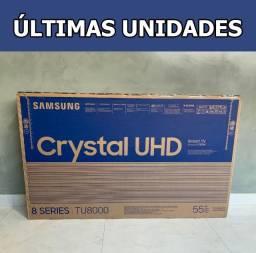 "Smart TV Samsung Crystal 55"" 4K Uhd Borda Infinita - Modelo 2020"