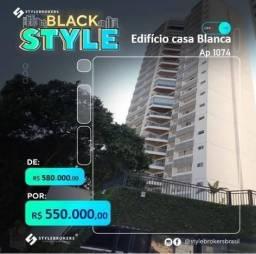 Apartamento no Edifício Casa Blanca com 3 dormitórios, 240 m² - venda por R$ 580.000 ou al