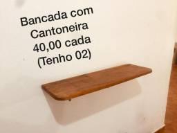 Bancada com cantoneira - 40,00