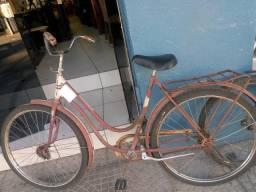 Bicicleta antiga raríssima vermelha