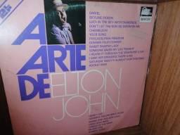 Vinis(Lps) album duplo(2 Lps) a Arte de Elton John, novíssimos