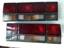 Usado, Par lanternas fumê Gol Quadrado GTS,GTI,CL,GL e 1000 comprar usado  Limeira