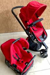 Carrinho Safety mobi 1st + bebê conforto (12x cartão)