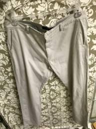 Calça sarja masculina, tamanho 50, seminova