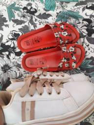Venda ou troca Melissa e sapato da moda originais