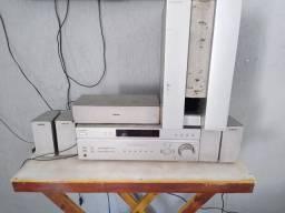 Som 5.1 da Sony Modelo: (Sony STR K7 760C)