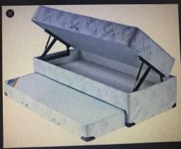 Nunca foi usada cama Baú