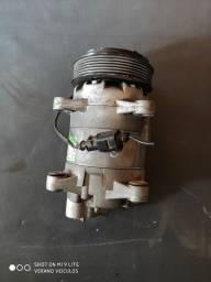 Compressor do ar condicionado Golf, New Beatles, Bora, Audi A3 1.8 e 2.0