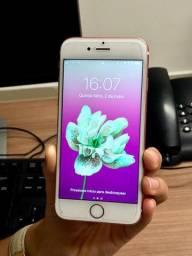 IPhone 6s rosé 128gb com nota fiscal