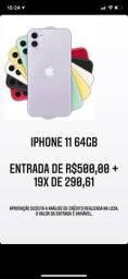 Iphone 11 64gb no boleto