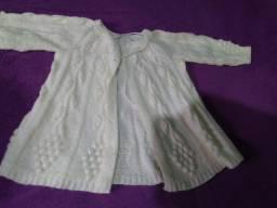 Casaquinho de crianca tricot