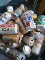 Latas de cerveja coleção