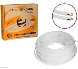 Cabo Coaxial 4mm Flexivel 80% Caixa 100MT - Connect
