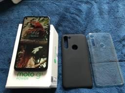 Moto G8 Power 64GB com NF TROCO