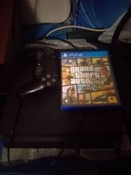Vendo PS4 SLIM COM HD DE 500GIGAS E UM CONTROLE. *