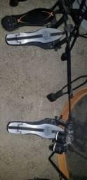Troco pedal duplo e surdo por prato top!
