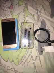 Vendo celular J5 pro sem nenhum defeito completo