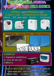 Cerca elétrica condominial/industrial