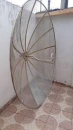 antena parabolica telada de 2.40cm