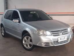 VW-Volkswagen Golf 1.6 sportline completo 2008 *bancos em couro