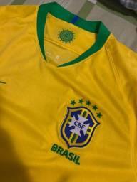 Camiseta oficial seleção brasileira masculina