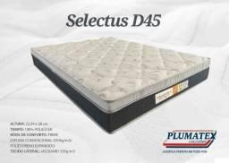 Colchão D45 isopor+espulma plumatex