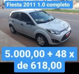 Fiesta 2011 10 Completo 5.000,00 mais 48x de 618,00